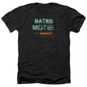 Psycho Bates Motel Distressed Mens Heather Shirt