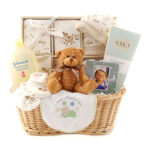 New Arrival Gift Basket - Neutral