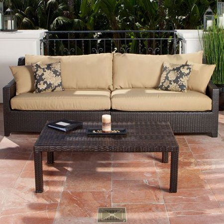 rst outdoor delano sofa and coffee table set