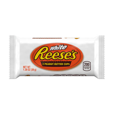 Reese's, White Peanut Butter Cup Candy, 1.39 Oz