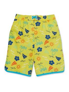 Wonder Nation Baby Toddler Boy Swim Trunks