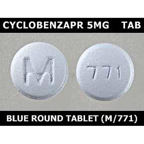 Cyclobenzaprine 5mg tab