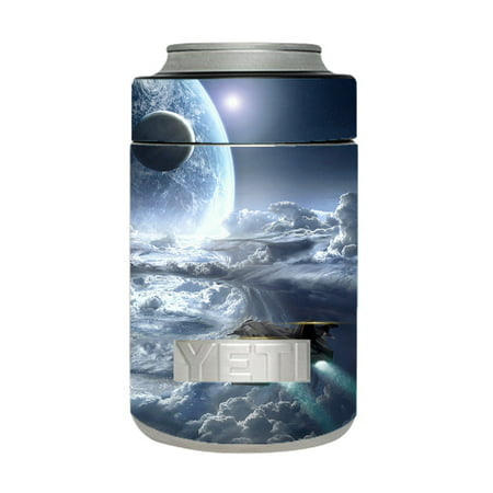 Skin Decal For Yeti 12 Oz Rambler Colster Can Cup / Galactic Spaceship Star Ship