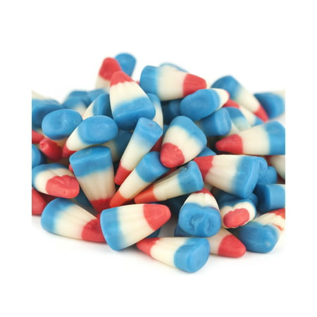 Patriotic Candy Corn 2 pounds red white blue raspberry lemonade - Halloween Cute Candy Corn