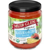 Muir Glen Organic Medium Black Bean and Corn Salsa, 16 oz