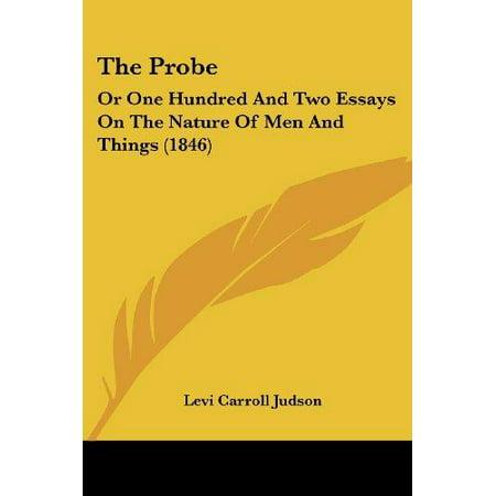 La sonde: Ou Cent deux essais sur la nature des hommes et des choses (1846)