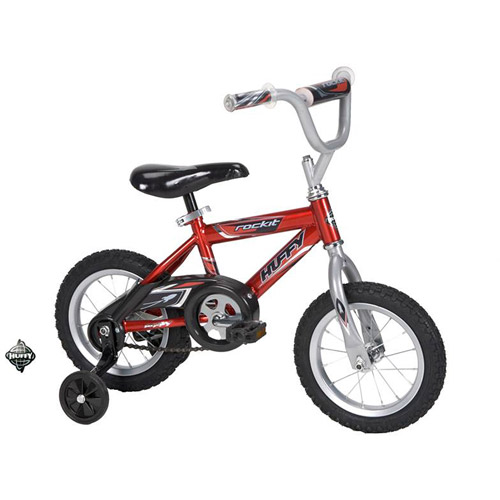 "12"" Huffy Rock It Boys' Bike, Red"