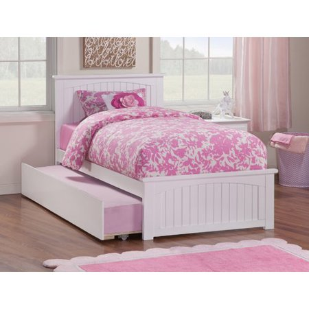 Atlantic Furniture Nantucket Panel Bed with Trundle