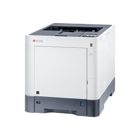 Kyocera ECOSYS P6230cdn - Printer - color - Duplex - laser - A4/Legal - 1200 x 1200 dpi - up to 32 ppm (mono) / up to 32 ppm (color) - capacity: 600 sheets - USB 2.0, Gigabit LAN, USB host