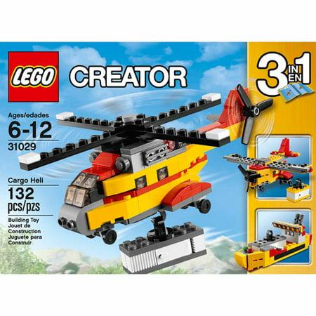 lego creator cargo heli
