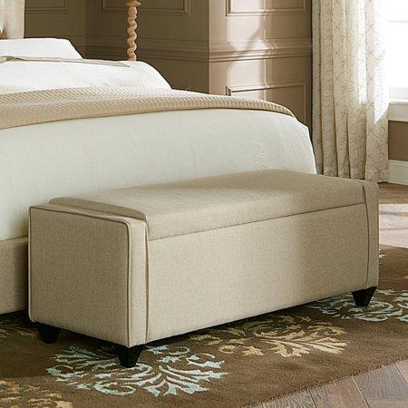 Liberty Natural - Liberty Furniture Upholstered Bed Bench - Natural