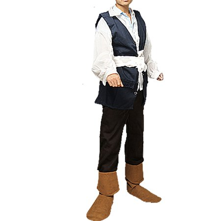 Adult Captain Pirate Buccaneer Halloween Party Outfit M - Pirates Outfits For Adults