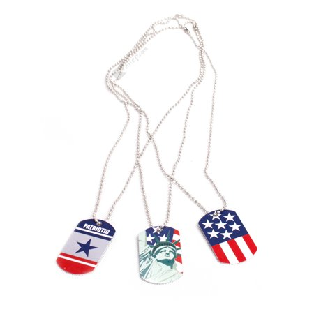 Patriotic July 4th Military Dog Tags 24