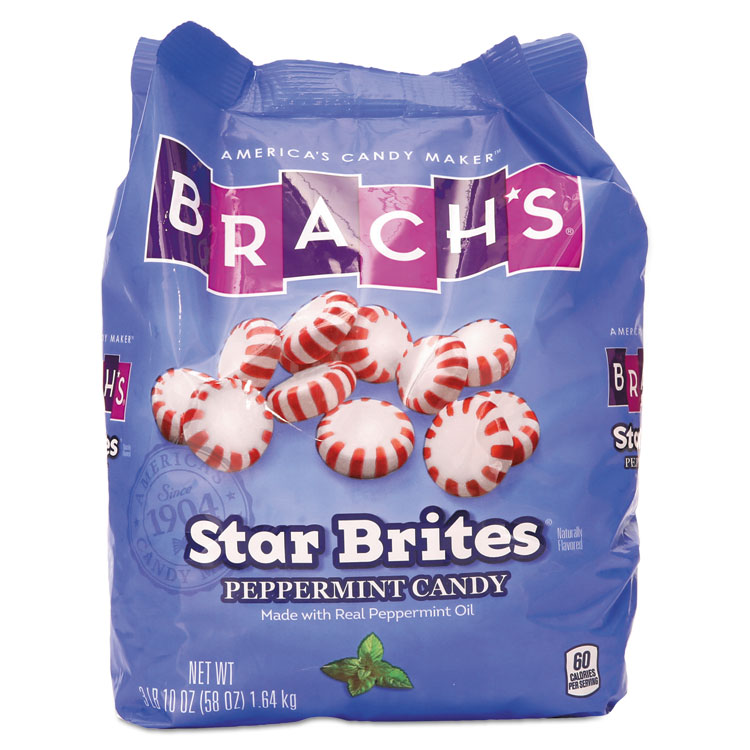 Star Brites Peppermint Candy, Individually Wrapped, 58 oz Bag BCH827132