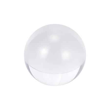 18mm Diameter Acrylic Ball Clear/Transparent Sphere Ornament Balls 0.7 Inches 18 Mm Half Ball