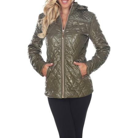 Women's Hooded Puffer Coat