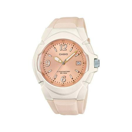 aa036f3e5 Women's Sport Analog Watch, White/Rose- LX-610-4AVCF - Walmart.com