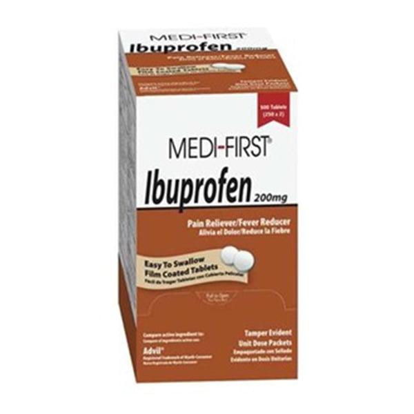 Ibuprofen, Tablets, PK 500
