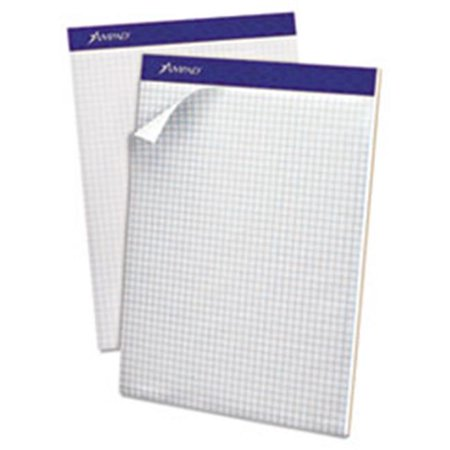Esselte Blue Canvas Book (Esselte Pendaflex Corp. 20210 Double Sheet Quad Pad, 4 Sq. Per Inch Rule, Letter, White, Perfed, 100-Sheet Pad )