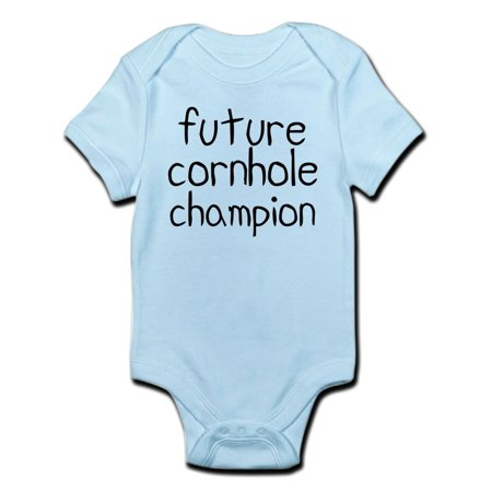 CafePress - Future Cornhole Champion Body Suit - Baby Light Bodysuit