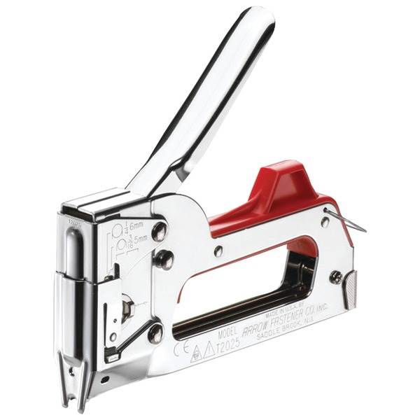 Dual Purpose Staple Gun and Wire Tacker