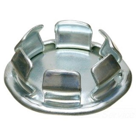Arlington 905 Plated Steel Snap-In Knockout Blank 2 Inch