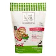 I and Love and You In the Raw Grain-Free Dehydrated Dog Food, Raw Raw Beef Boom Ba Dinner, 5.5 Lb