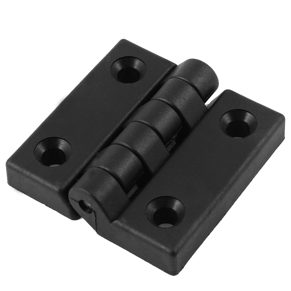 65mm x 65mm Cabinet Door Screw Mount Butt Ball Bearing Plastic Hinge