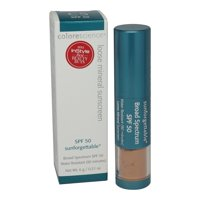 Colorescience Sunforgettable Brush-On Sunscreen Spf 50, Tan, 0.21 Oz