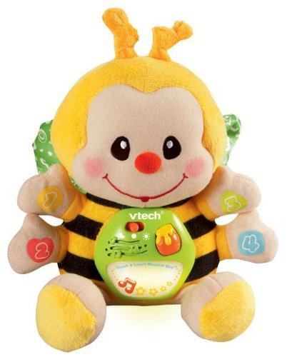 - Touch and Learn Musical Bee, 4 press buttons teach colors, numbers and shapes By VTech by