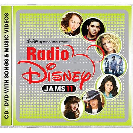 Radio Disney Jams 11 (CD/DVD) - Radio Disney Halloween Music