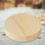 LYUMO Wooden Round Prop,Wood Round Pallet,Pine Solid Wooden Round Prop Pallet Stand for Ring Jewelry Jade Pendant Displaying Tool