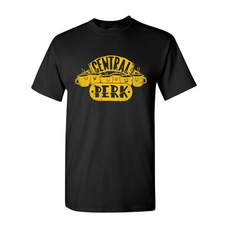 Central Perk Coffee Friends Salih Gonenli Artworks TV Funny DT Adult T-Shirt Tee