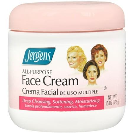 Jergens Polyvalent Crème Visage 15 oz (pack de 3)