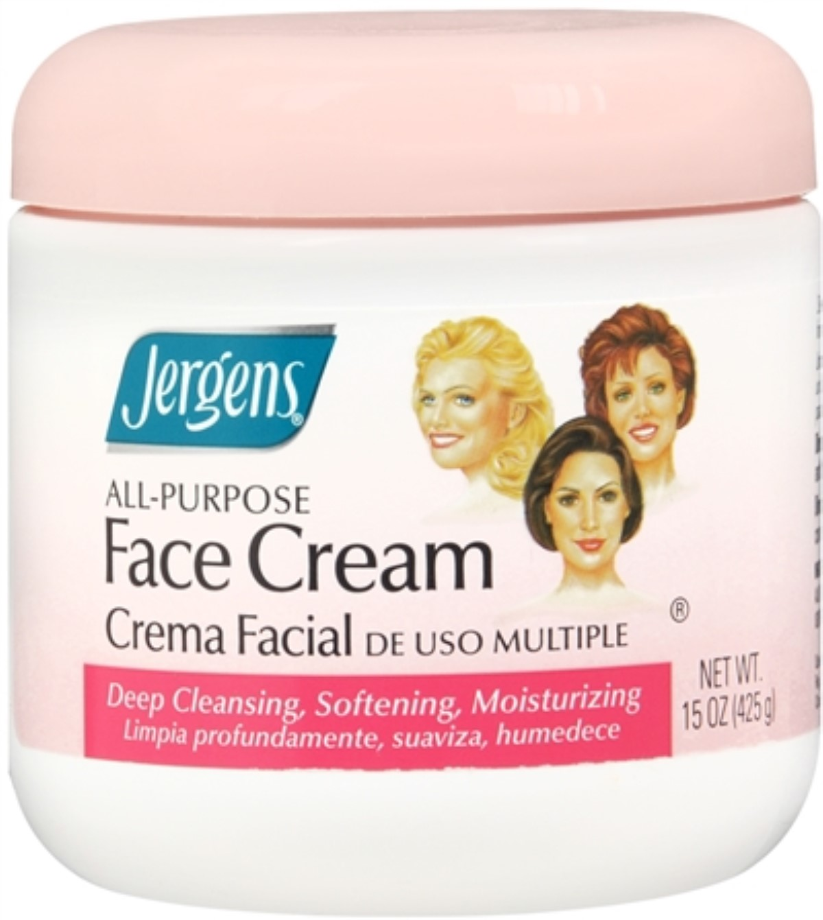 Jergens All-Purpose Face Cream 15 oz (Pack of 4)