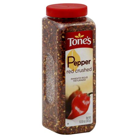 Tone's Crushed Red Pepper - 13.5 oz. shaker (4