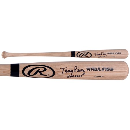 "Tony Perez Cincinnati Reds Autographed Rawlings Pro Bat with ""HOF 2000"" Inscription - Fanatics Authentic Certified"