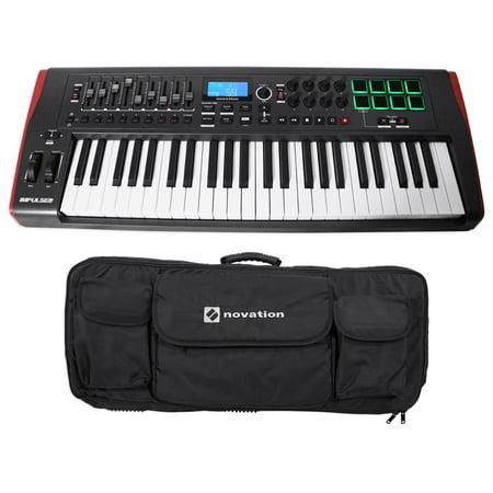 novation impulse 49 ableton live 49 key midi usb keyboard controller carry case. Black Bedroom Furniture Sets. Home Design Ideas