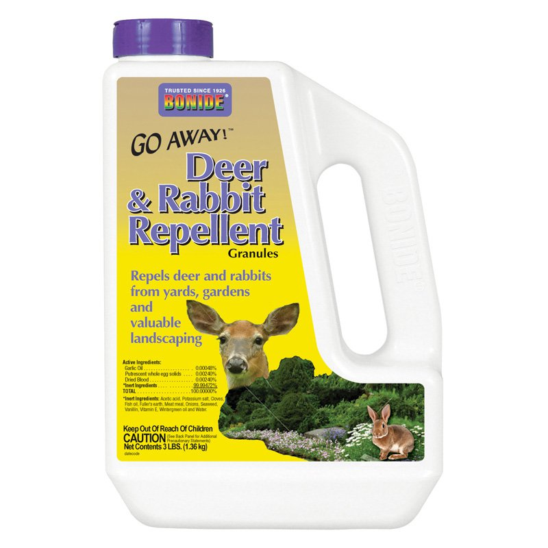 Bonide Go Away Deer and Rabbit Repellent Granules