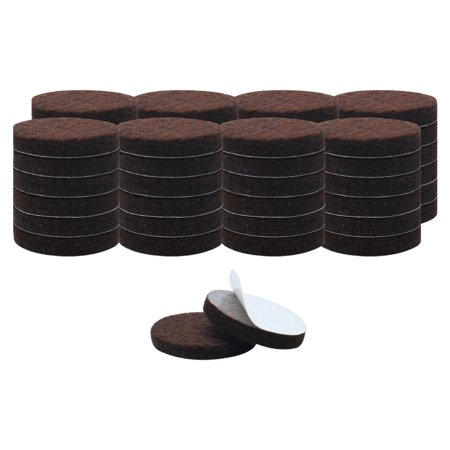 Chair Leg Pads (50pcs Felt Furniture Pads Round 3/4