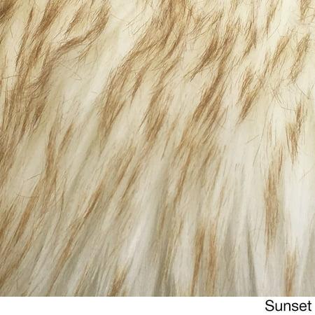 Spectrum Rugs Legacy Faux Sheepskin Shag Accent Rug (2' x 3')