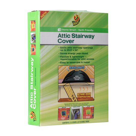 Duck Brand Attic Stairway Cover, 25.5 in. x 54 in., 1-Count