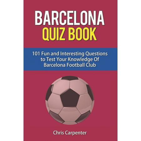 FC Barcelona Quiz Book (Paperback)