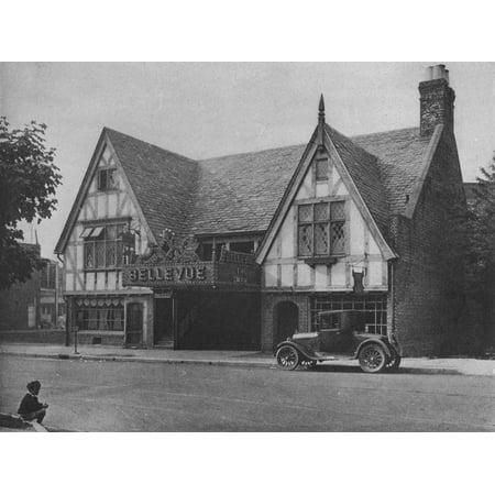 Bellevue Theatre, Upper Montclair, New Jersey, 1925 Print Wall Art