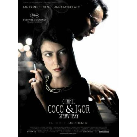 Coco Chanel   Igor Stravinsky  2009  11X17 Movie Poster  French