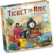Days of Wonder - Ticket to Ride India
