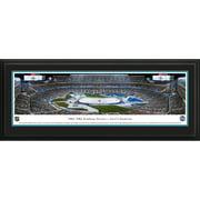 "San Jose Sharks 18"" x 44"" Deluxe Framed Panoramic -"