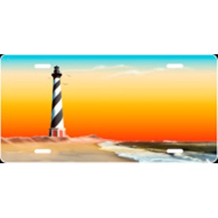 Lighthouse Hatteras Airbrush License Plate Free Personalization on Air Brush - image 1 of 2