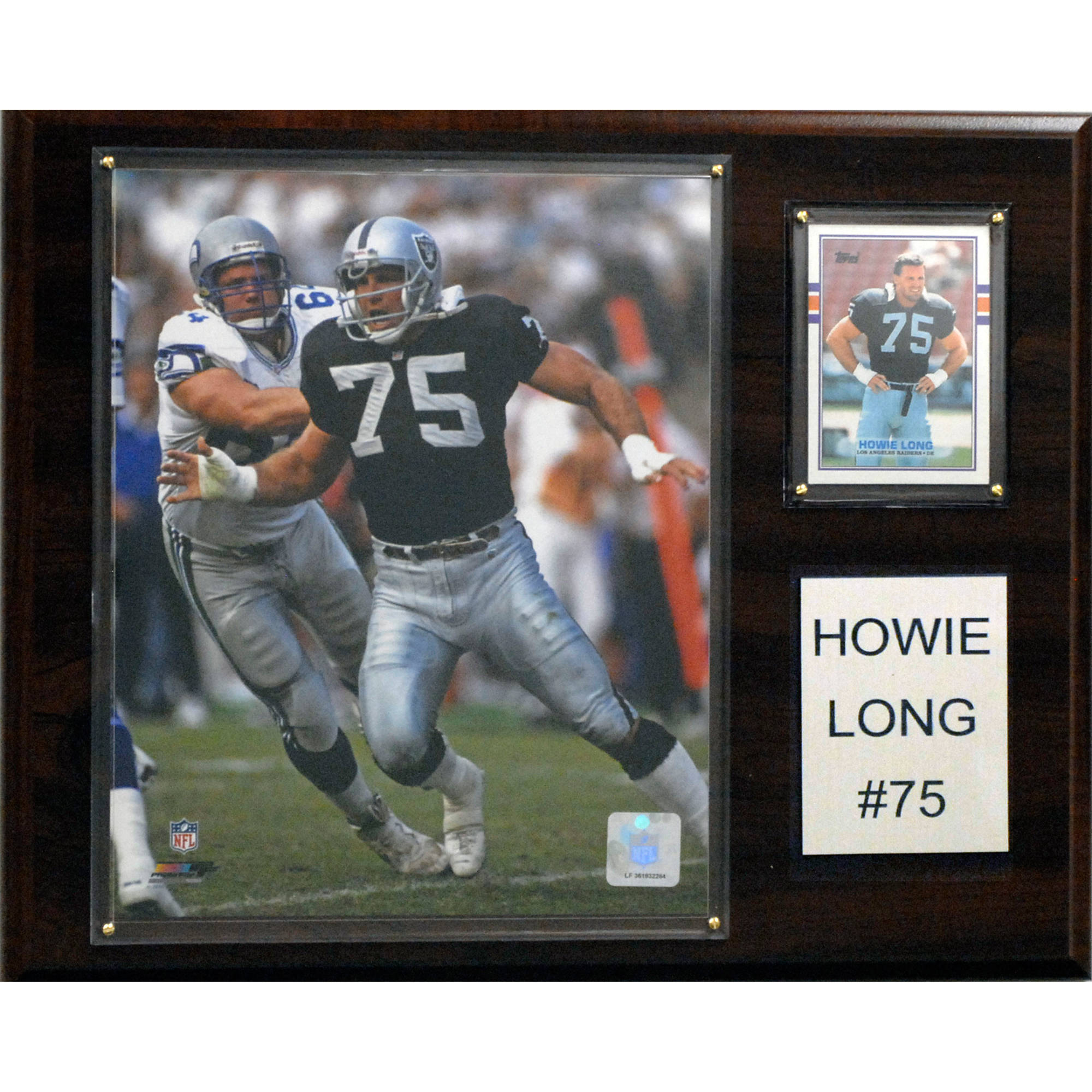C&I Collectables NFL 12x15 Howie Long Oakland Raiders Player Plaque