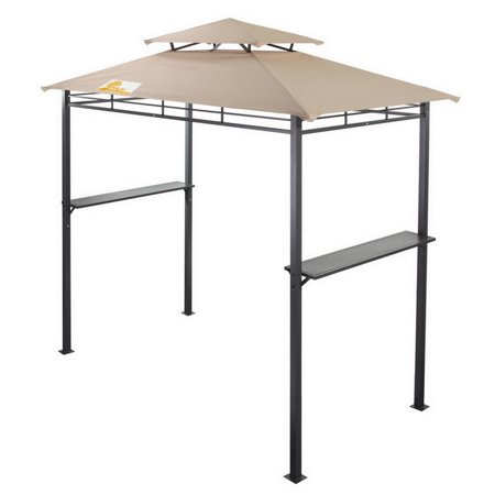 Palm Springs Deluxe 8FT Double-Tier Barbecue Canopy / BBQ Grill Tent ()